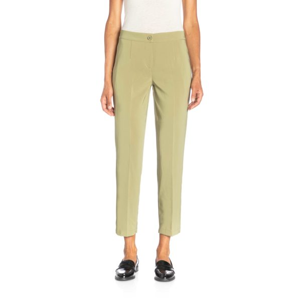 Pantalone Straight Verde - Nicla