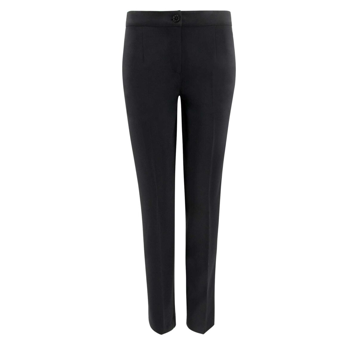 Pantalone Straight Nero - vista frontale   Nicla