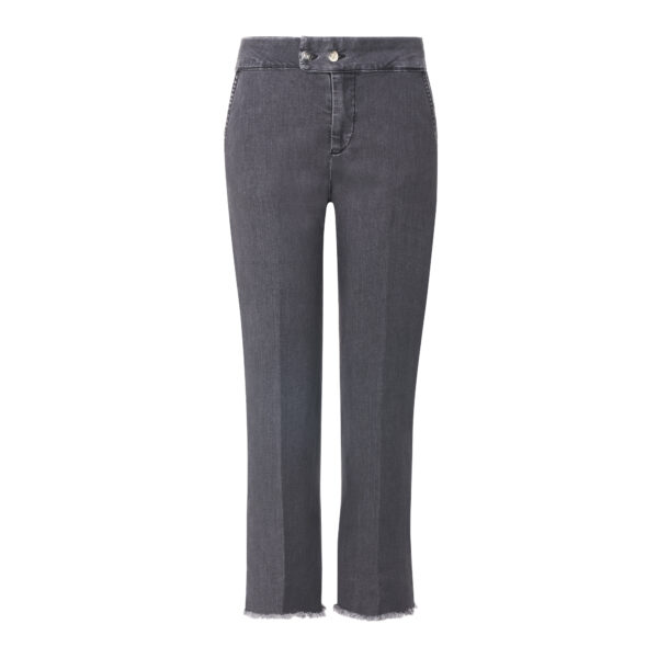 Pantalone Classic in denim Denim nero - vista frontale | Nicla