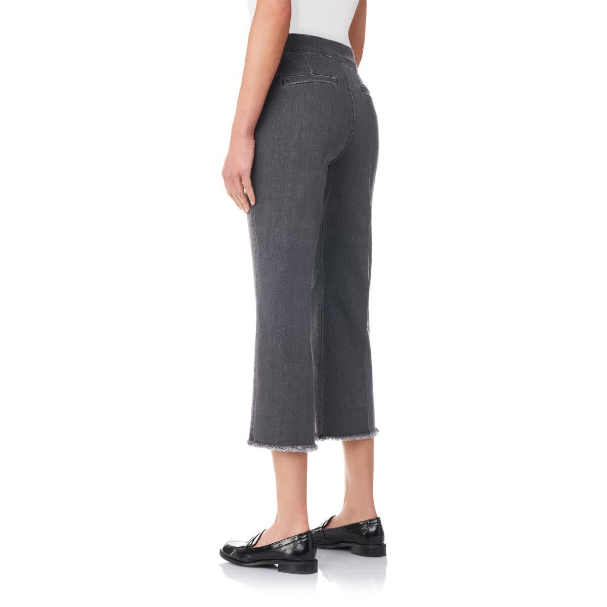 Pantalone Classic in denim Denim nero - Nicla
