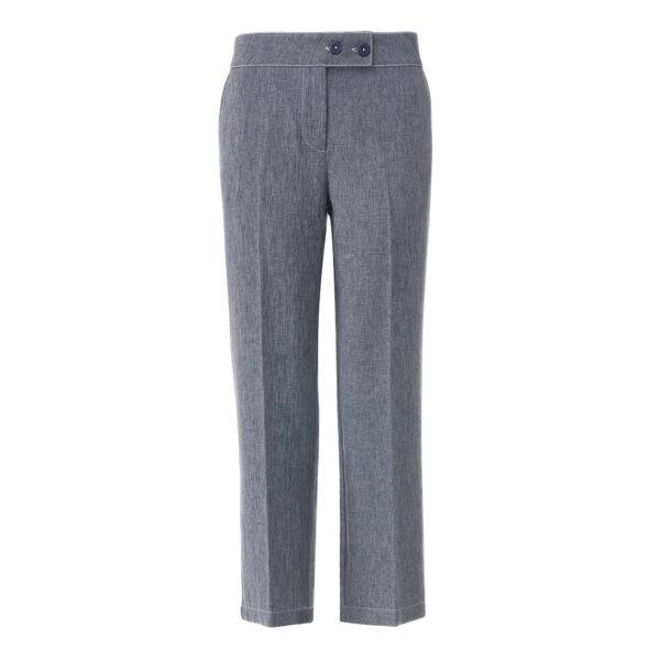 Pantalone Classic tessuto effetto chambray Jeans - vista frontale | Nicla
