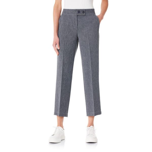 Pantalone Classic tessuto effetto chambray Jeans - Nicla