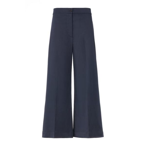 Pantalone Cropped Blu - vista frontale | Nicla