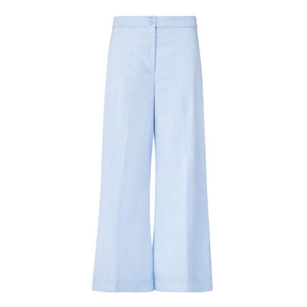 Pantalone Cropped Azzurro - vista frontale | Nicla