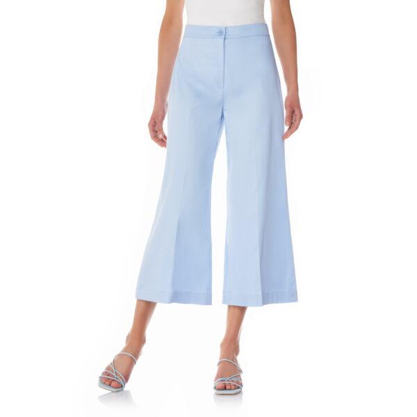Pantalone Cropped Azzurro - Nicla