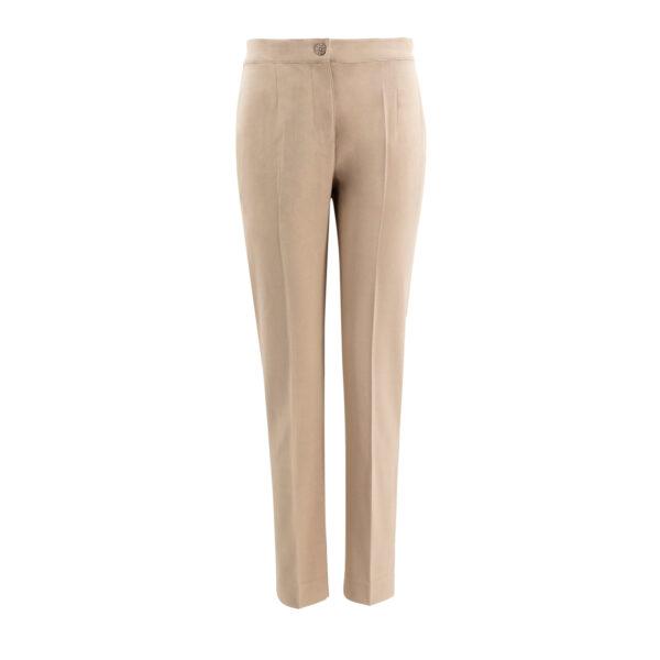 Pantalone Straight Sabbia - vista frontale | Nicla