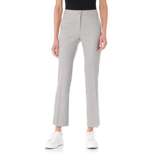 Pantalone Flare in misto lino Grigio - Nicla