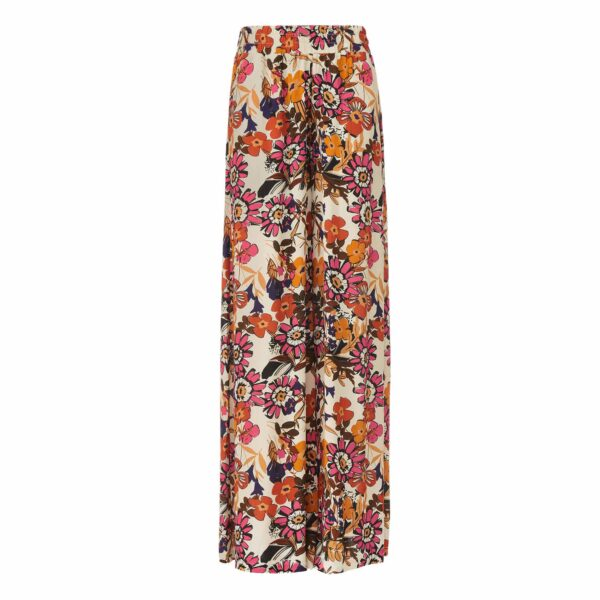 Pantskirt a stampa Macrofloral Multicolor - vista frontale | Nicla
