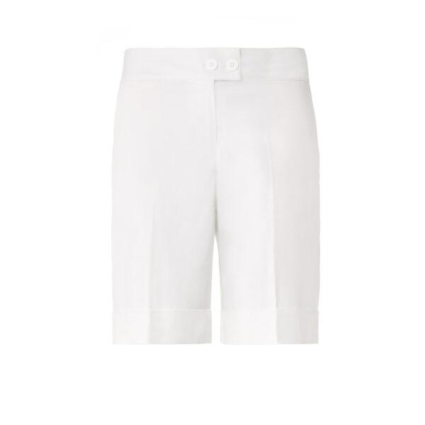 Shorts Bermuda Bianco - vista frontale | Nicla