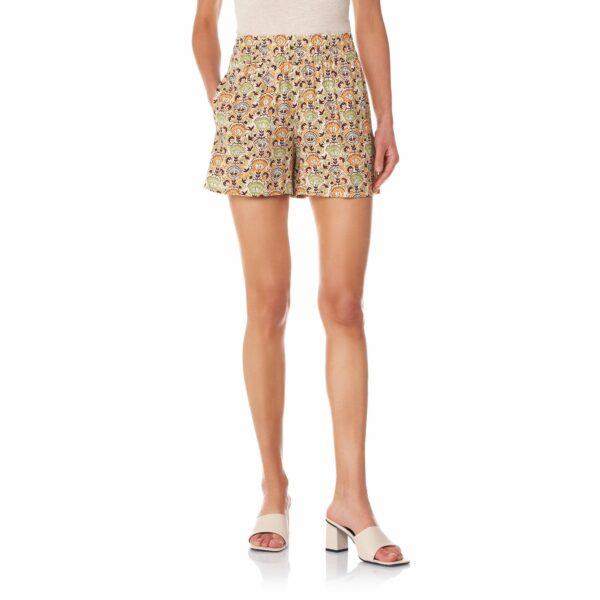 Shorts a fantasia floreale Multicolor - Nicla