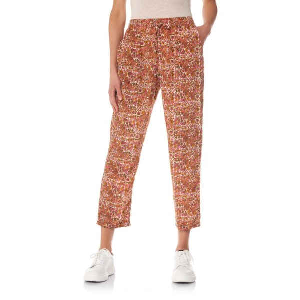 Pantalone Relaxed fit a stampa floreale Multicolor - Nicla
