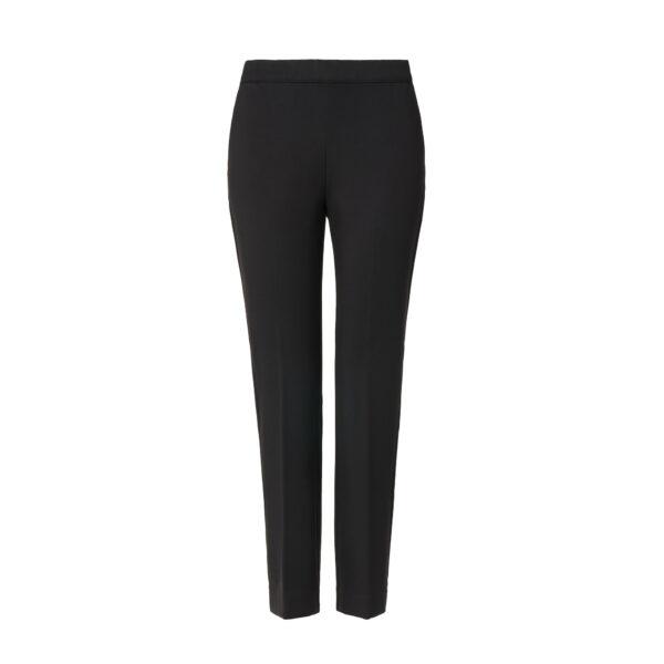 Pantalone Flare jersey compatto Nero - vista frontale | Nicla