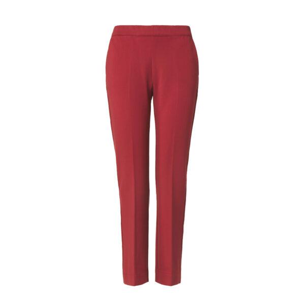 Pantalone Flare jersey compatto Rosso - vista frontale | Nicla