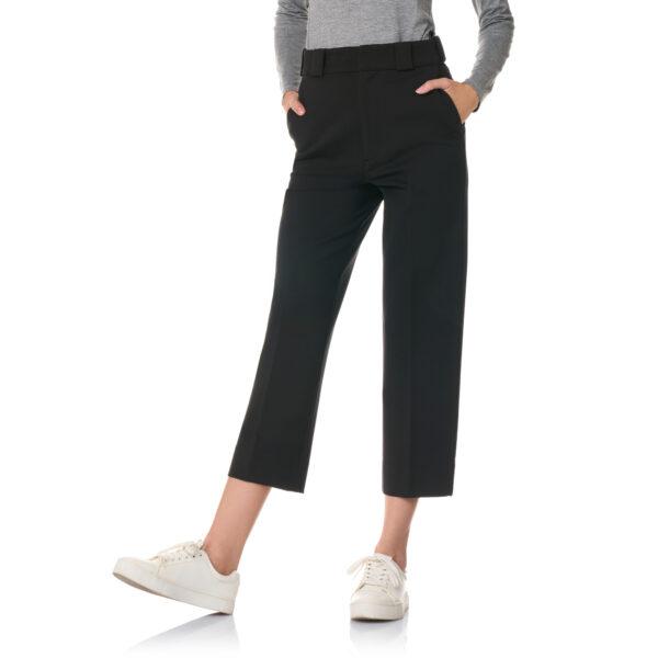 Pantalone New Straight jersey compatto Nero - Nicla