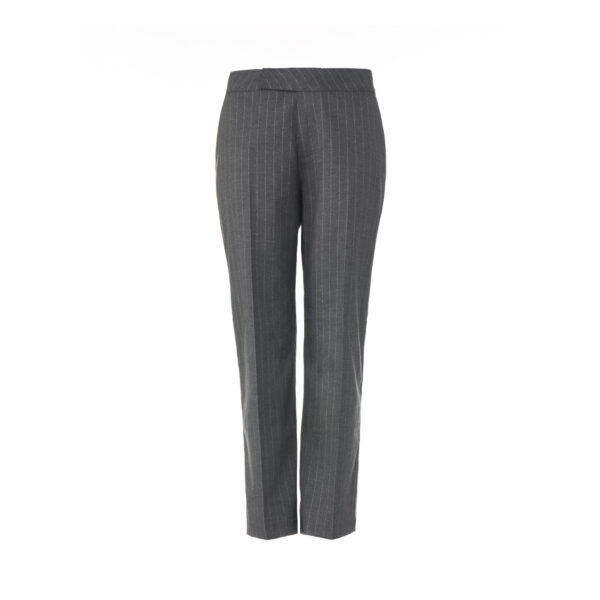 Pantalone Classic gessato Grigio - vista frontale | Nicla