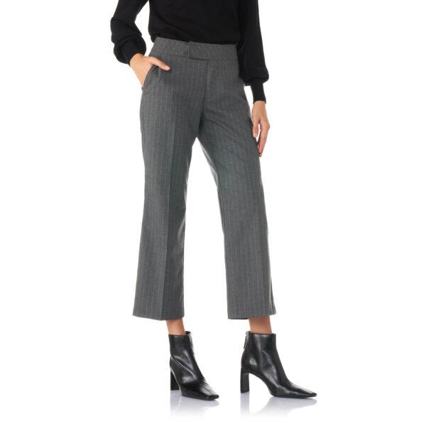 Pantalone Classic gessato Grigio - Nicla