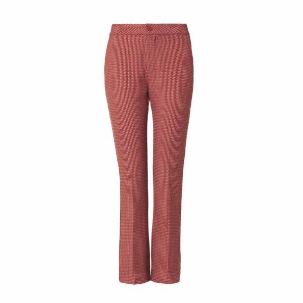 Pantalone Flare brick red Multicolor - vista frontale | Nicla