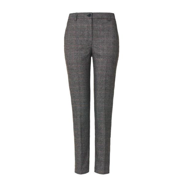 "Pant Straight ""London Grey"" Grigio scuro - vista frontale | Nicla"