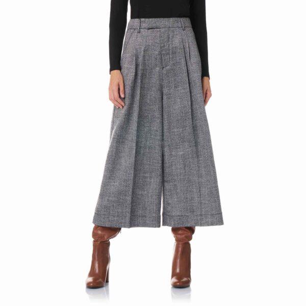 Pantalone Culotte Grigio - Nicla