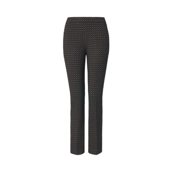 Pantalone Flare Fantasia Nero - vista frontale | Nicla