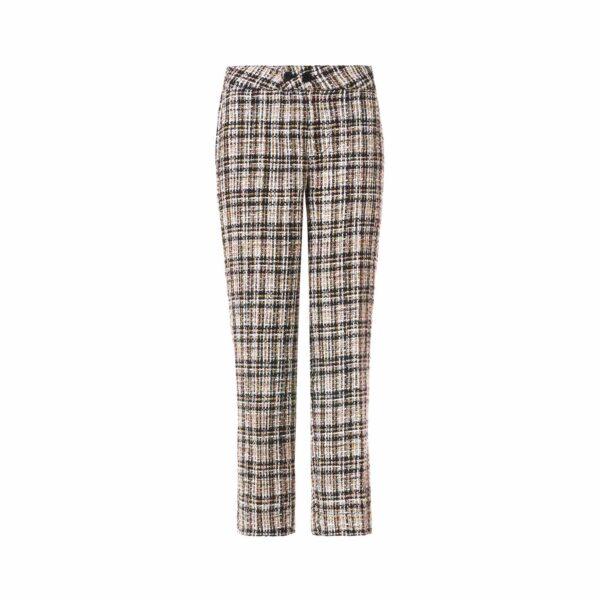 Pant Classic Tweed Black and White Bianco/Nero - vista frontale | Nicla