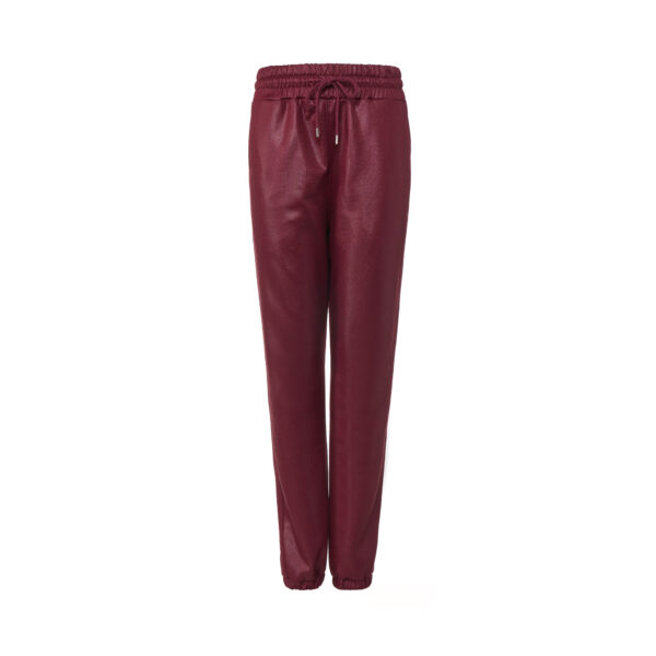Pants Jogger Burgundy - vista frontale | Nicla